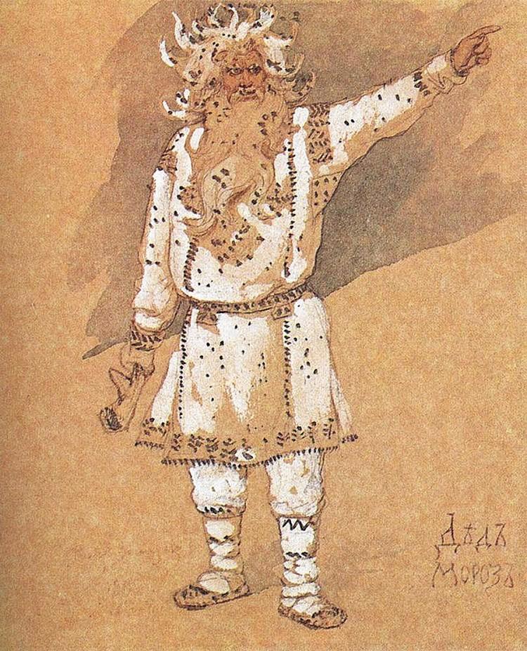 V. M. Vasnecov, Dedek Mraz, 1885