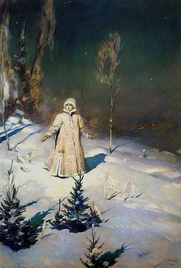 V. M. Vasnecov, Sneguročka, 1889