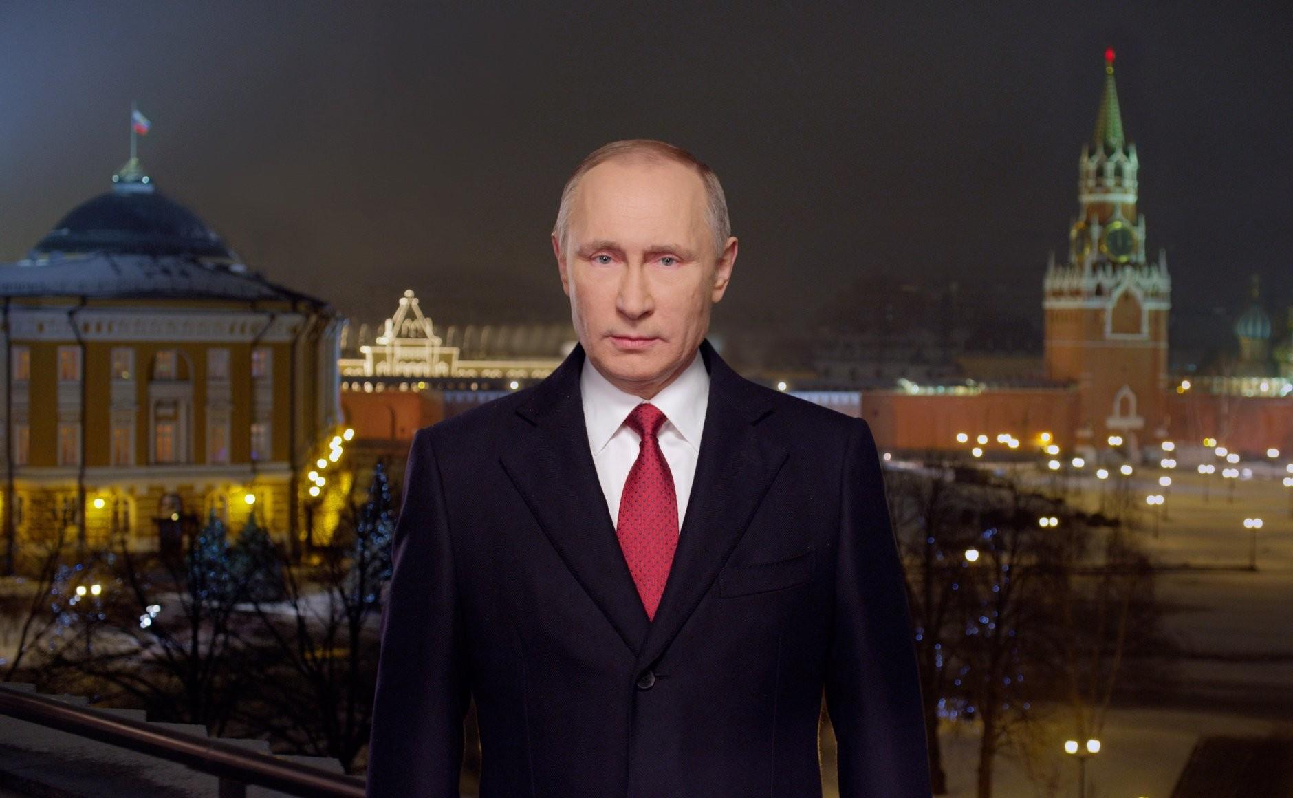 Putinov nagovor ob novem letu 2017