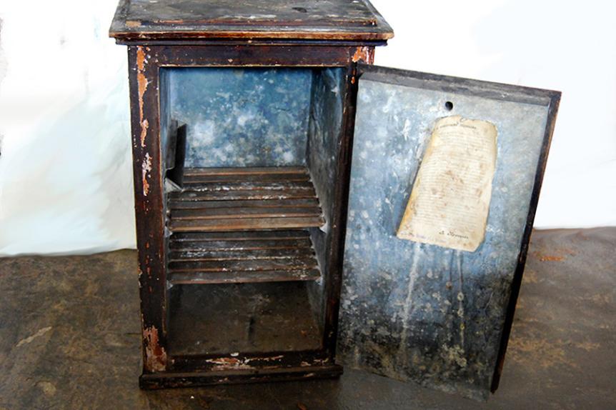 Lednik iz 19. stoletja.