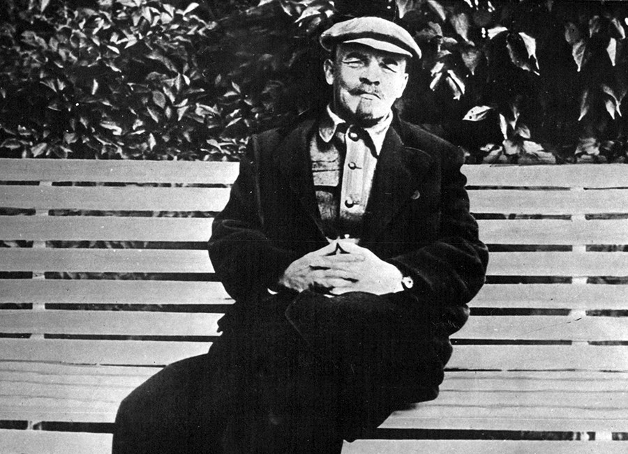 Vladímir Lenin.