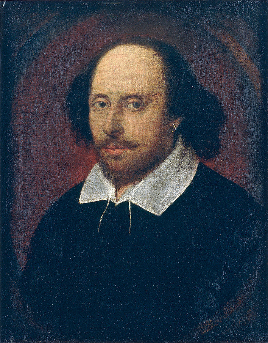 William Shakespeare, obra de  John Taylor.