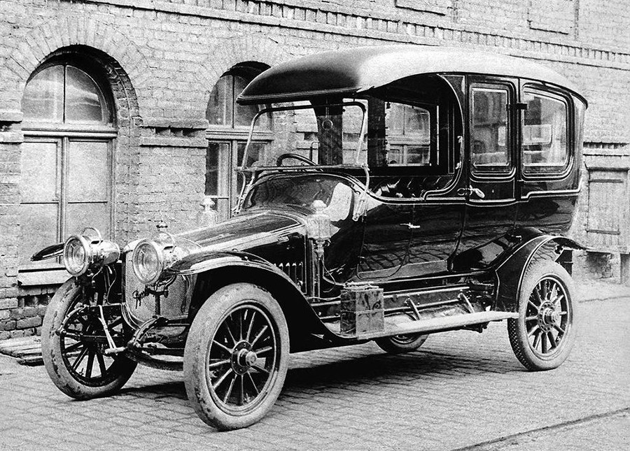 One of the first Russo-Balt cars