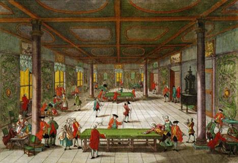 Peter's eighteenth century and cueist game