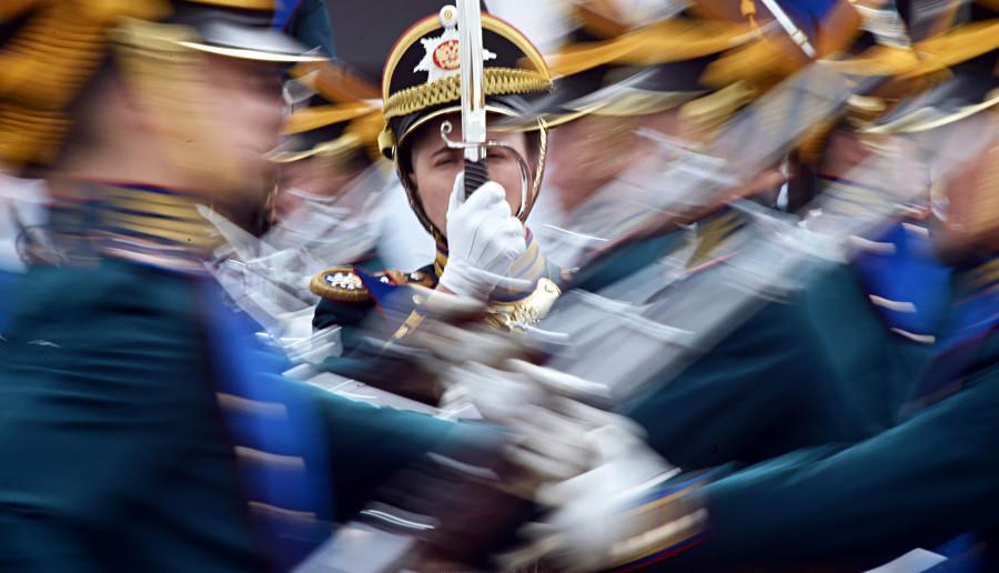 S otvaranja prvog svjetskog prvenstva u praktičnom streljaštvu u parku Patriot, Moskovska oblast.