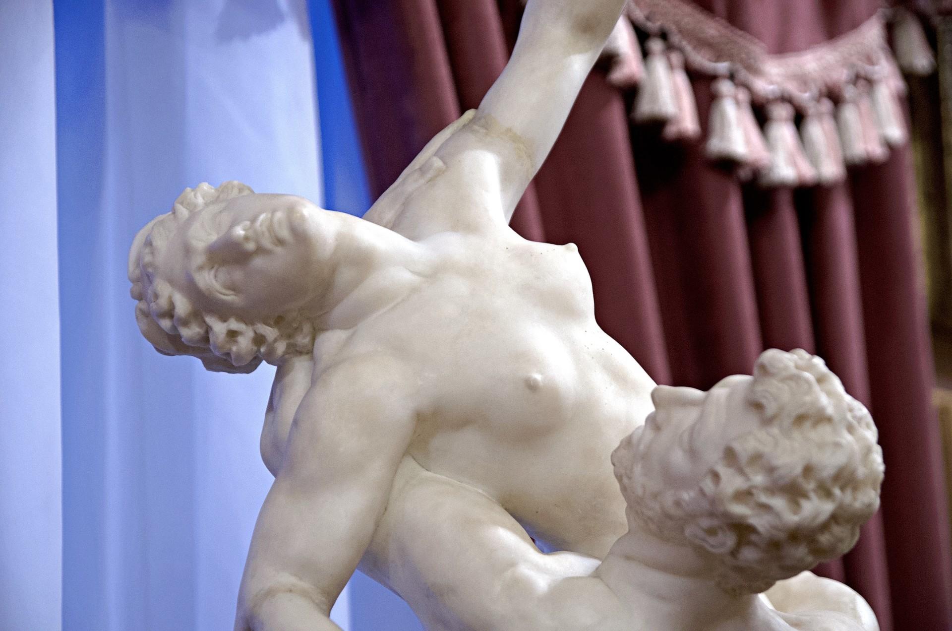 Neben Gemälden und Interieur gehört auch eine feine Skulpturenschau zur Dauerausstellung.