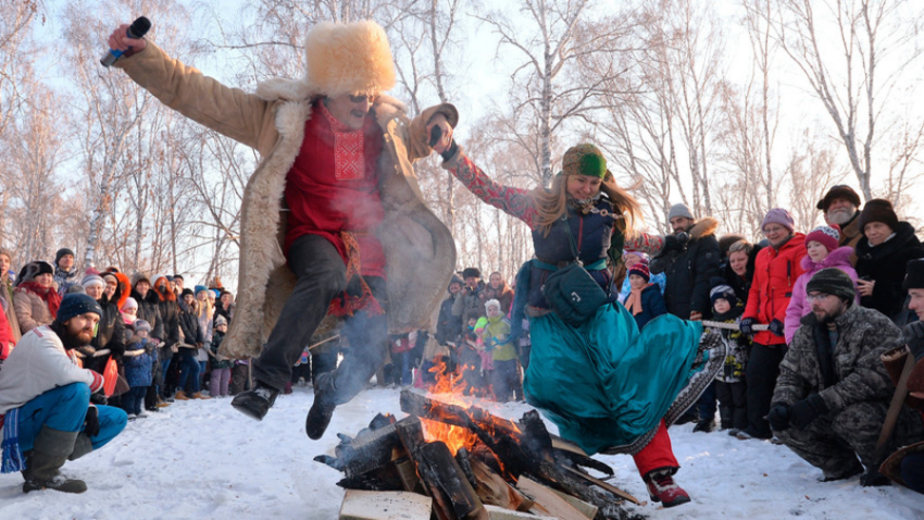 Svjatki v Čeljabinski regiji.