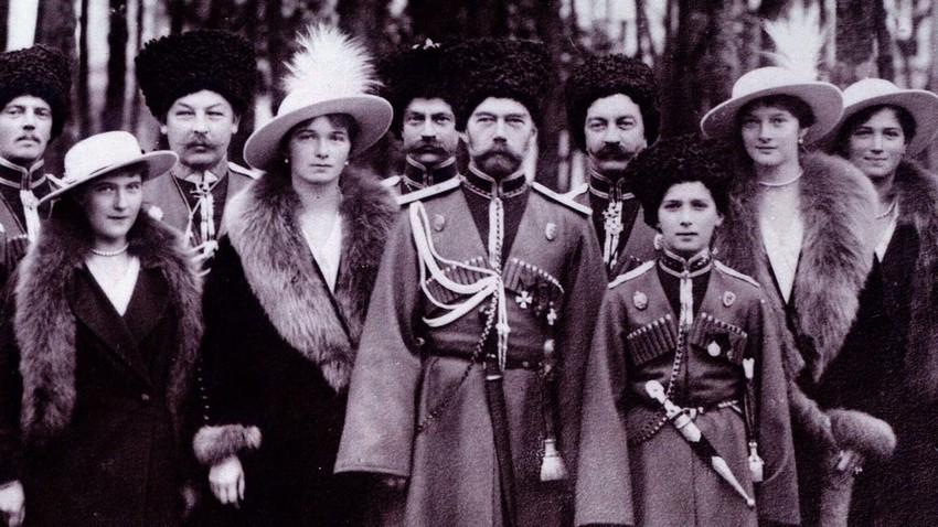 A exposição marca os cem anos da morte dos Romanov.