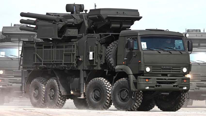 Pantsir-S1 is a Russian made short to medium range anti-aircraft system.