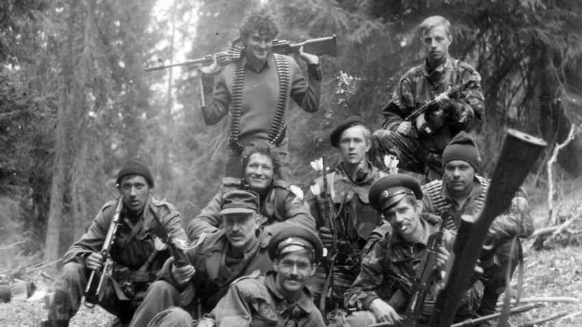Руси у редовима ВРС. Околина Вишеграда, мај 1993.