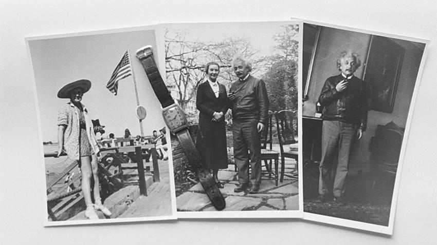 Алберт Ајнштајн је гајио романтичне односе са Маргаритом Коњенковом (на левој фотографији и са њим на десној), за коју се испоставило да је совјетски тајни агент.