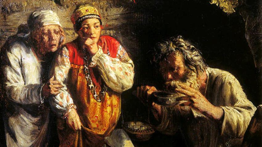 Grigorij Mjasojedow: Der Dorfhexer