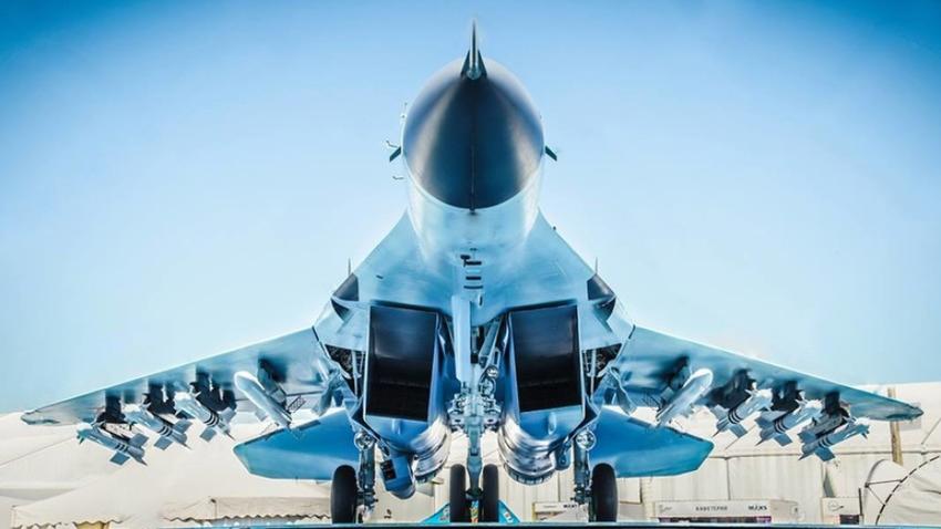MiG-35 na zračno-vesoljskem sejmu MAKS 2017