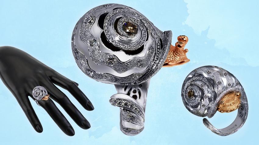 No fim dos anos 1980, ele participava de exibições de joias na União Soviética quando inesperadamente foi notado por uma empresa americana.