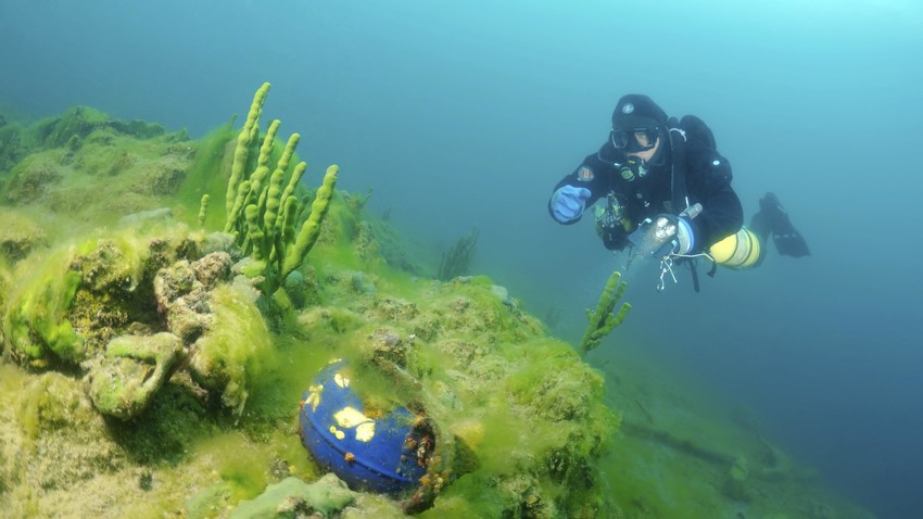 Lake Baikal Bottom