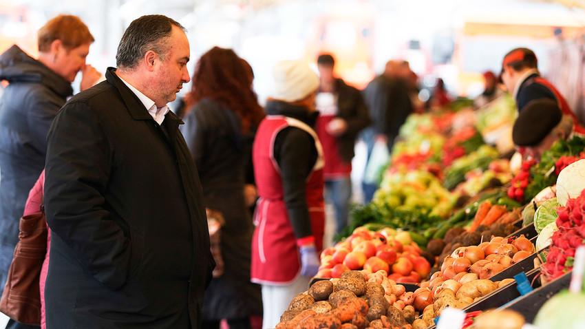 Pernahkah Anda mengunjungi pasar tradisional Rusia?
