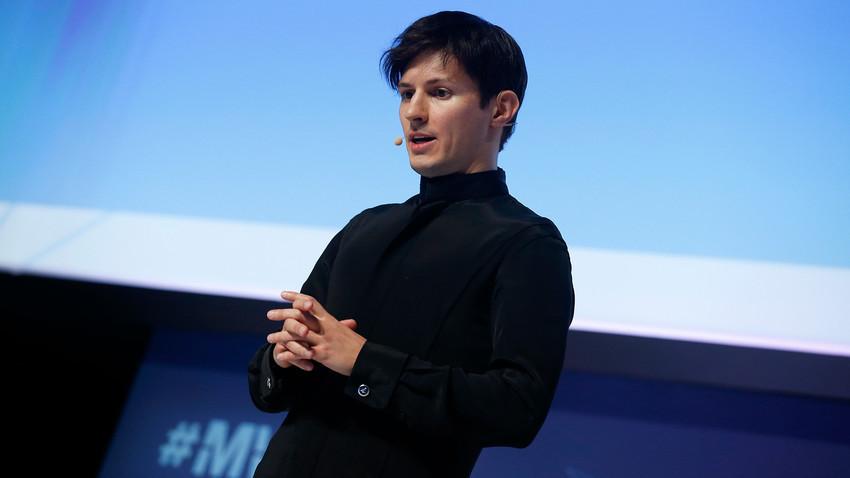 Osnivač ruske društvene mreže VK.com i komunikacijskog servisa Telegram Pavel Durov.