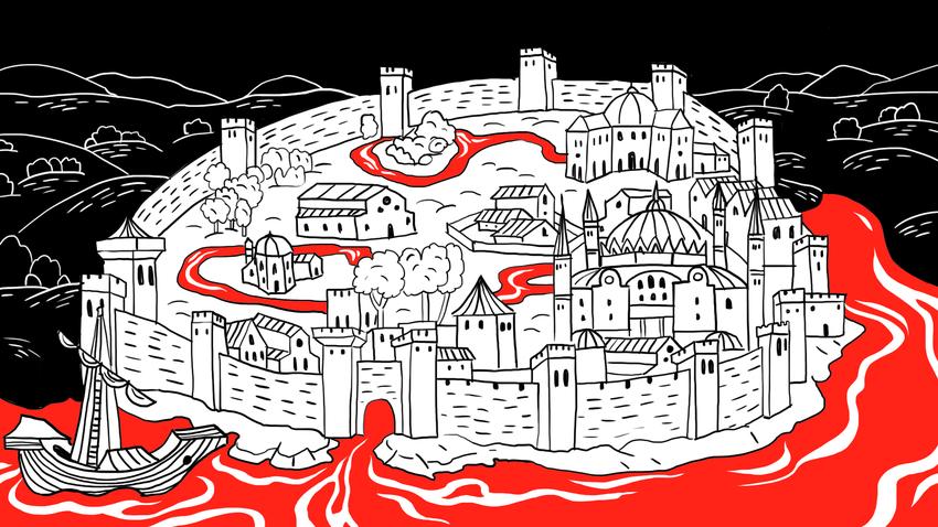 Tak ada kejelasan apa yang akan dilakukan Rusia dengan Konstantinopel setelah berhasil merebutnya.