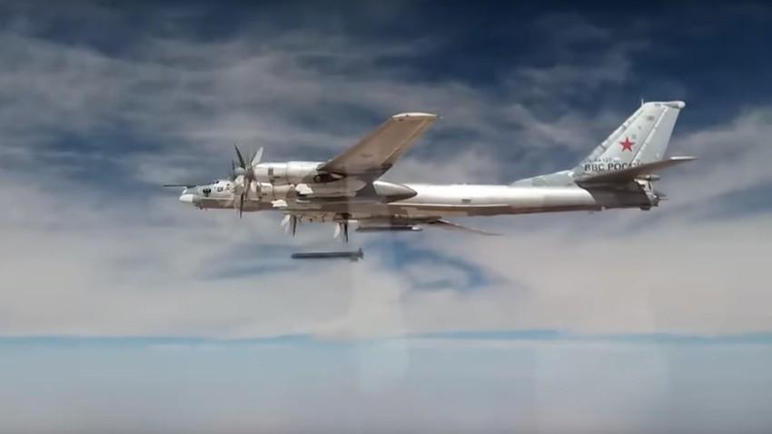 Ту-95МС са крстарећим ракетама Х-101