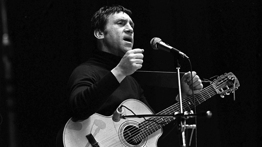 Vladimir Vysotsky performing in Yaroslavl in 1979