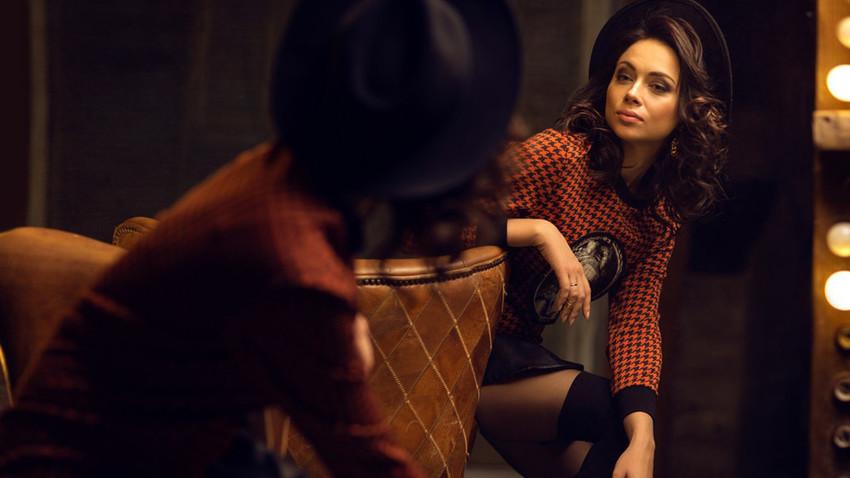 "Актриса Настася Самбурская, снимки от ""Playboy""."