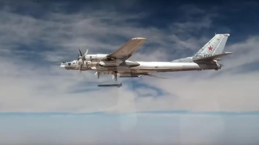 Ту-95МС са крилати ракети Х-101
