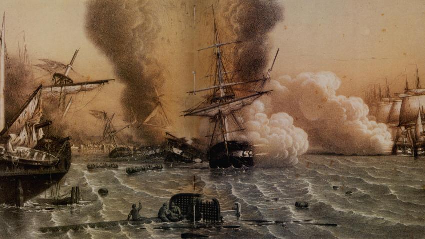 Bitka pri Sinopu, 30. novembra 1853.