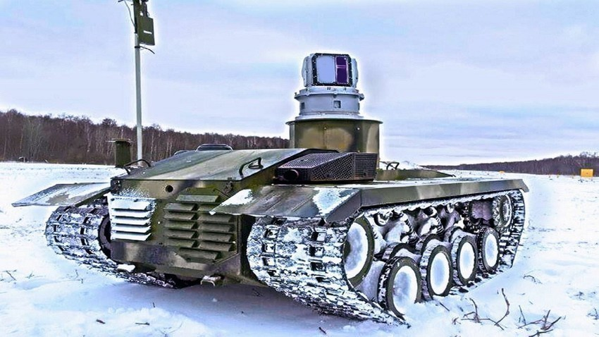 "Боен робот ""Нерехта-2"""