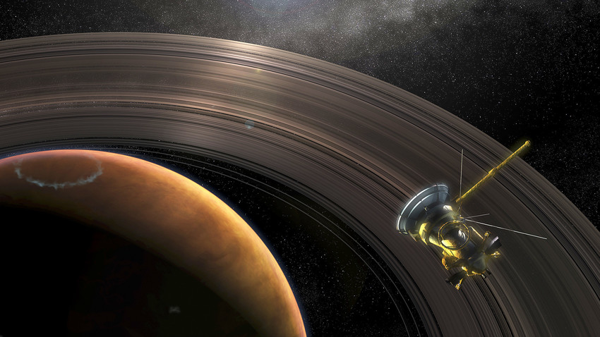 Researchers identified a mechanism that might explain the formation of the clumps in the Saturn's F-ring.