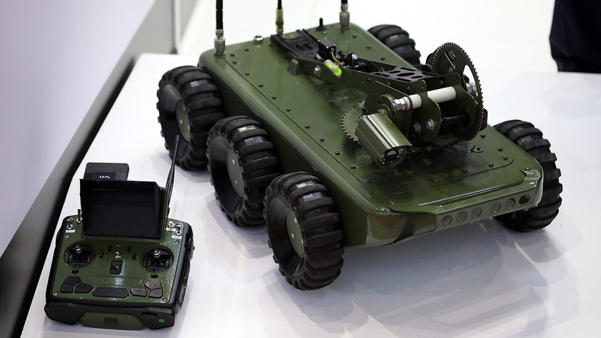Los nuevos robots de tierra serán capaces de inflitrarse en las posiciones enemigas sin ser notados.