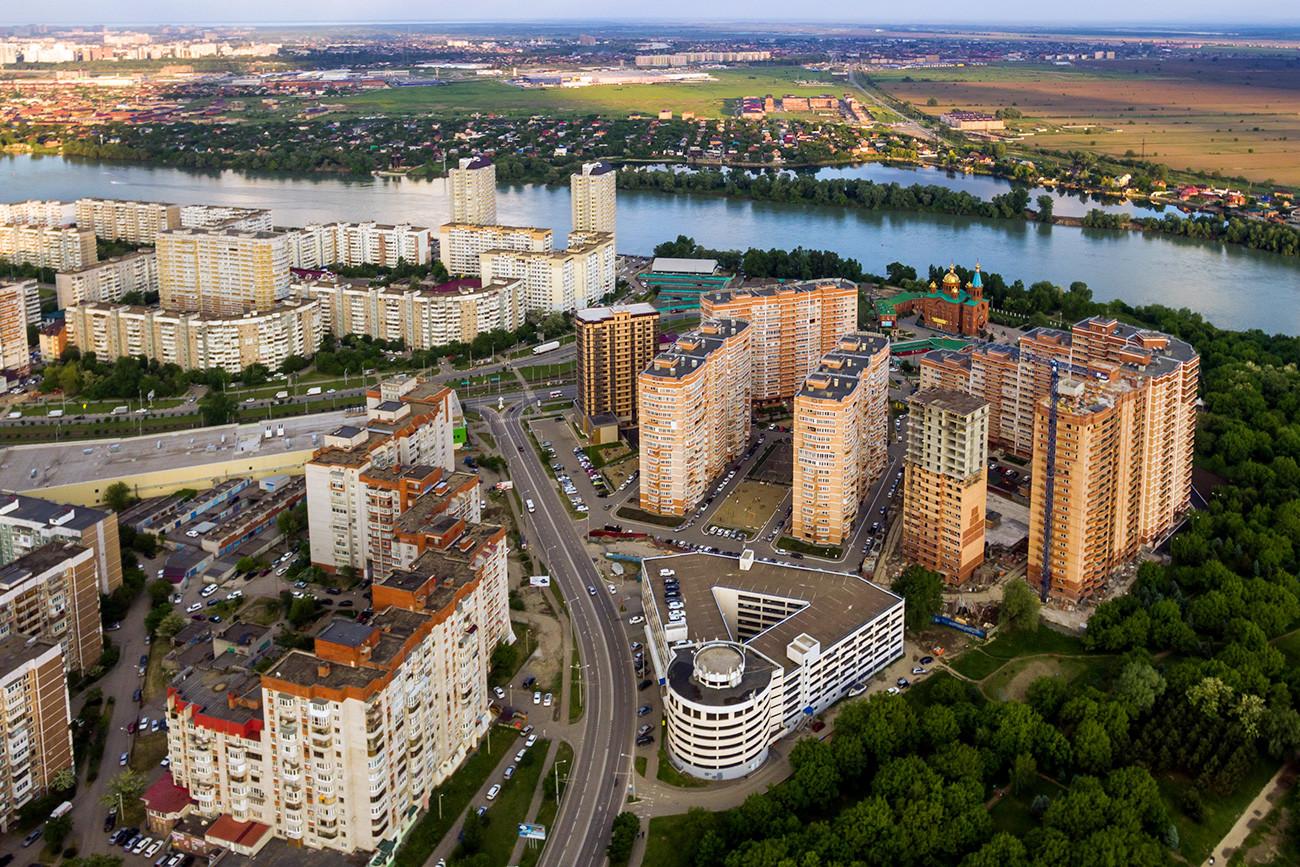 Peringkat yang dibuat oleh majalah Russian Reporter tidak memasukan Moskow dan Sankt Peterburg.