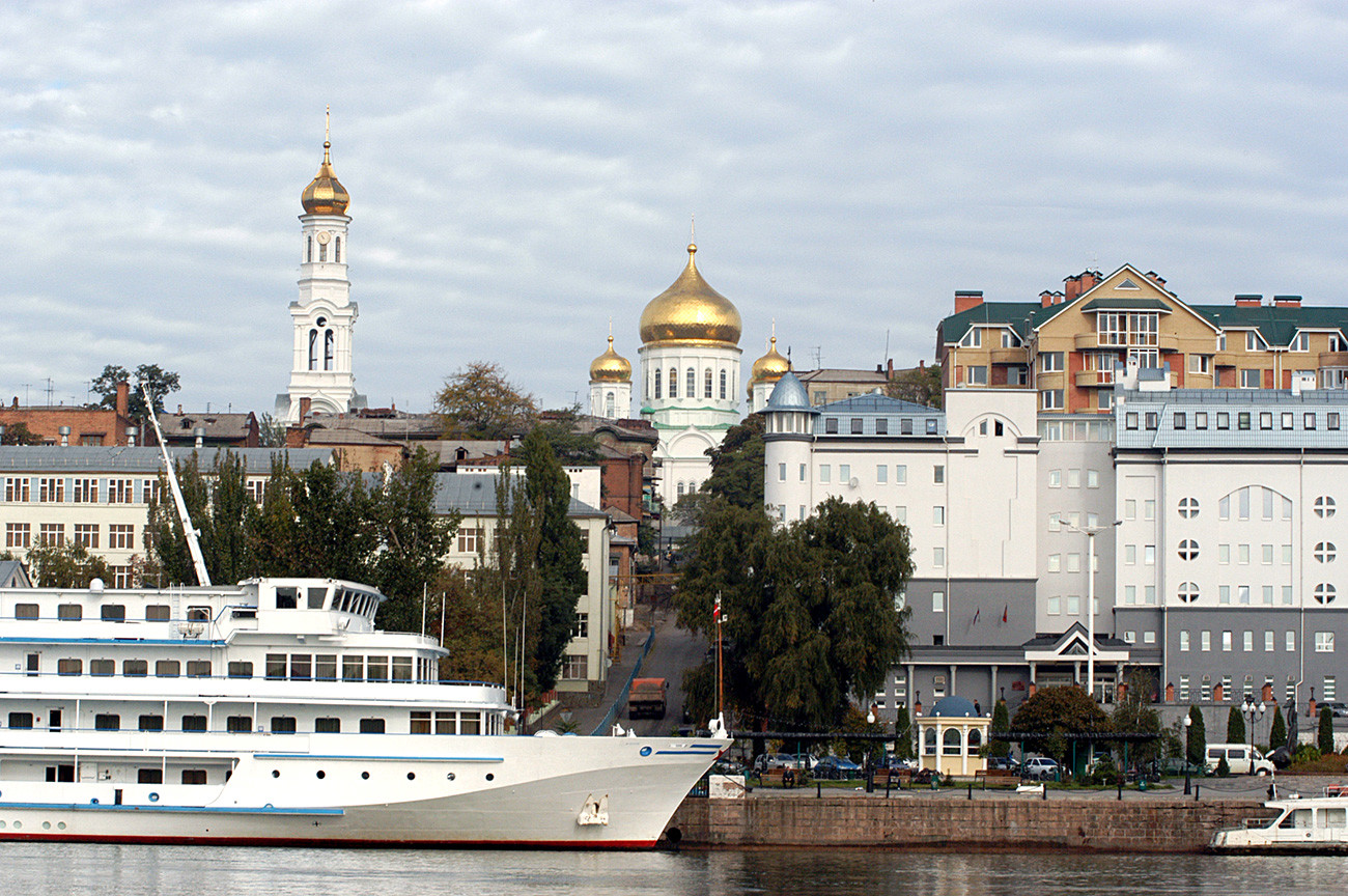 Pinggir Sungai Don, Rostov-na-Donu.