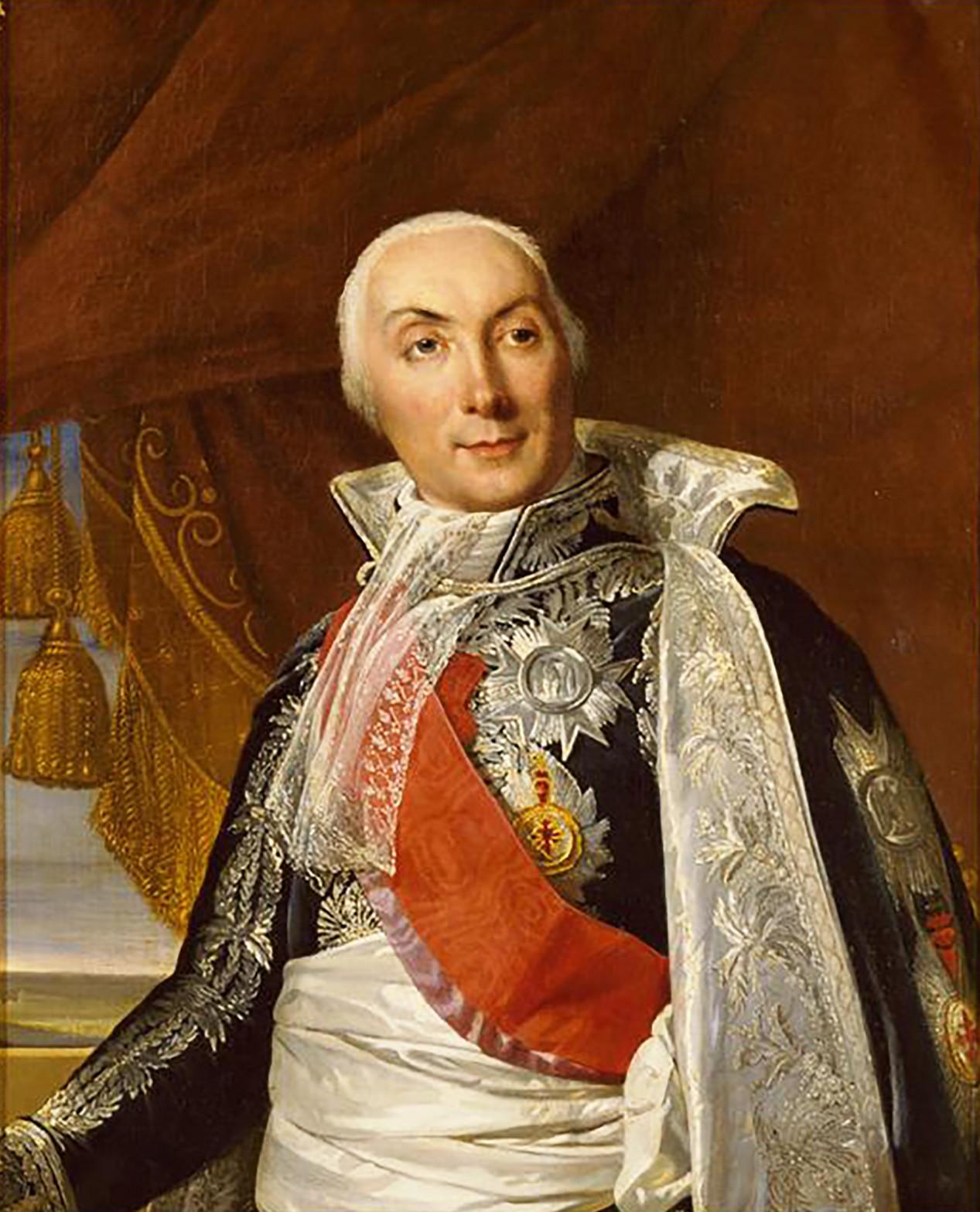 Potret Louis-Philippe de Ségur (1753 – 1830).