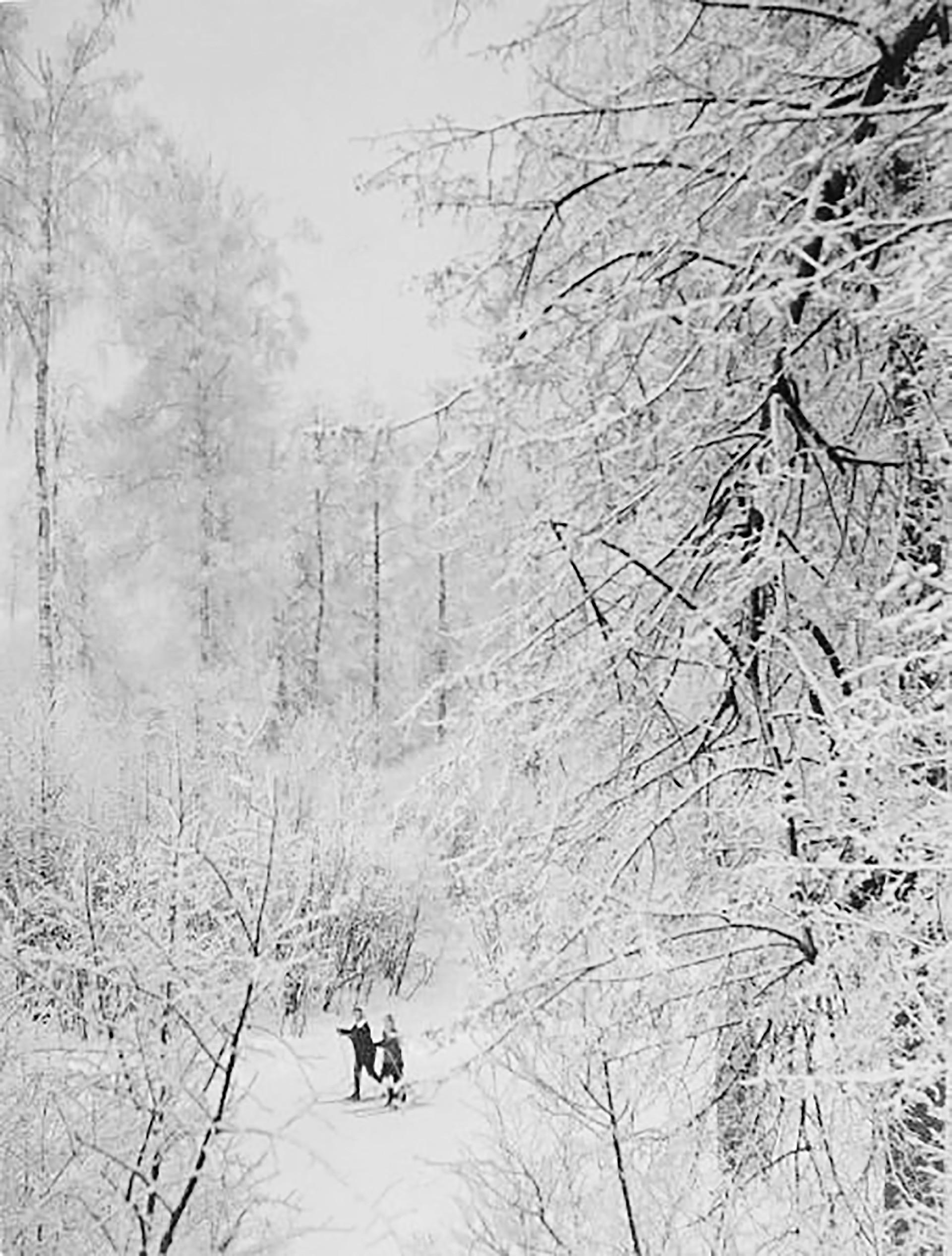 Skifahren ist seit jeher ein russischer Wintersportklassiker. Zu Sowjetzeiten gehörte Skilaufen sogar zum Schulsportprogramm.