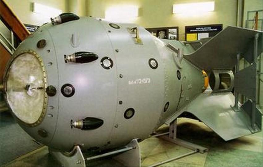 Prva sovjetska atomska bomba, RDS-1.