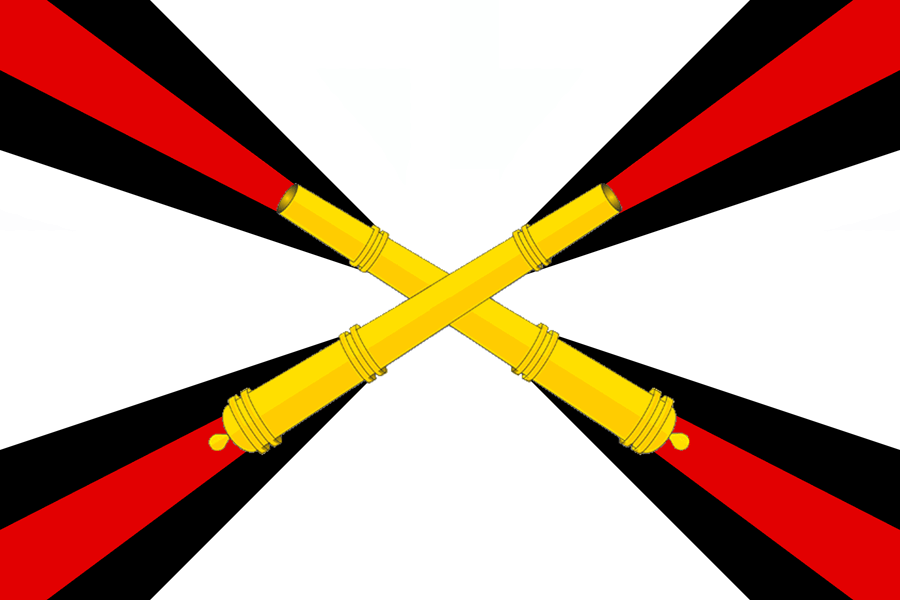 Zastava ruskih raketnih čet in artilerije