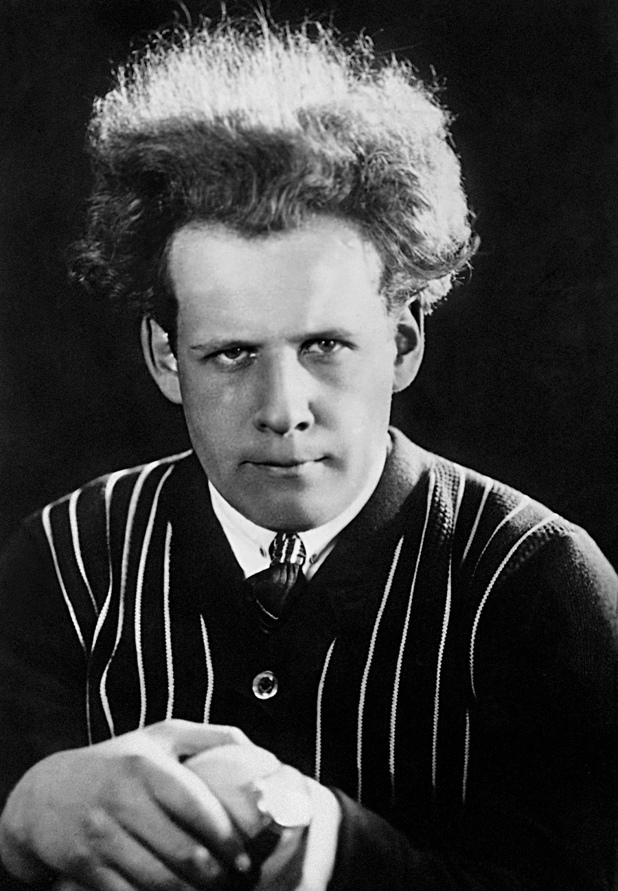 セルゲイ・エイゼンシュテイン監督、1930年