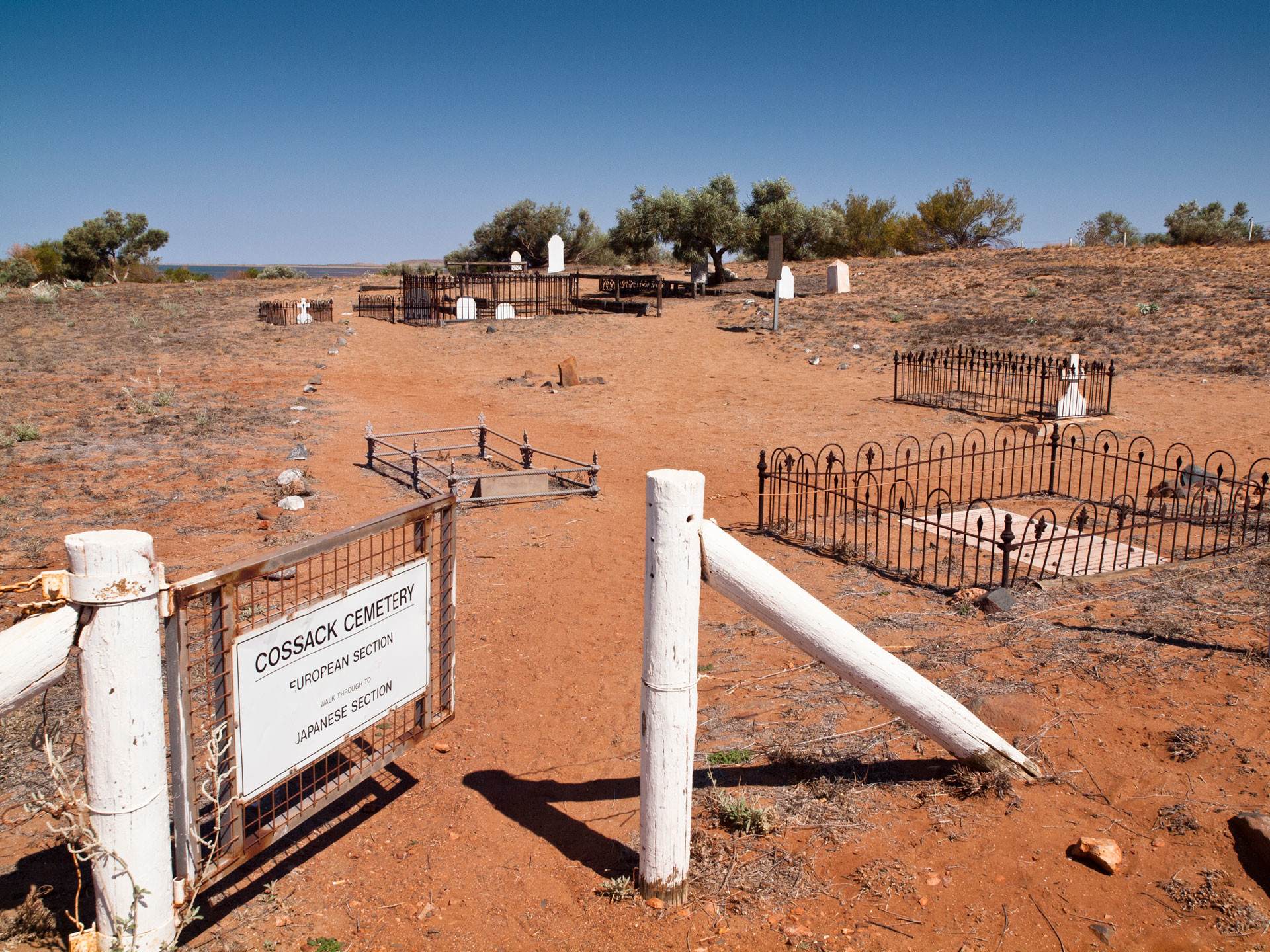 Cossack is a historic ghost town in the Pilbara region, Western Australia, and was famous for pearls and gold in the 1800s.