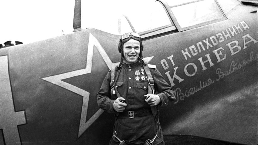 Иван Кожедуб, 1944.