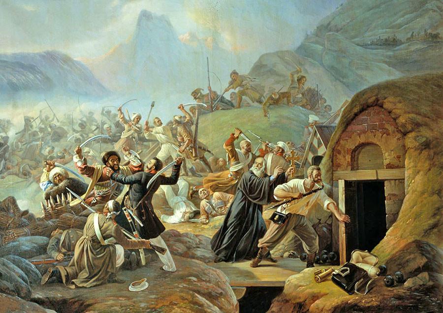 Kavkaski rat je trajao skoro pola stoljeća.