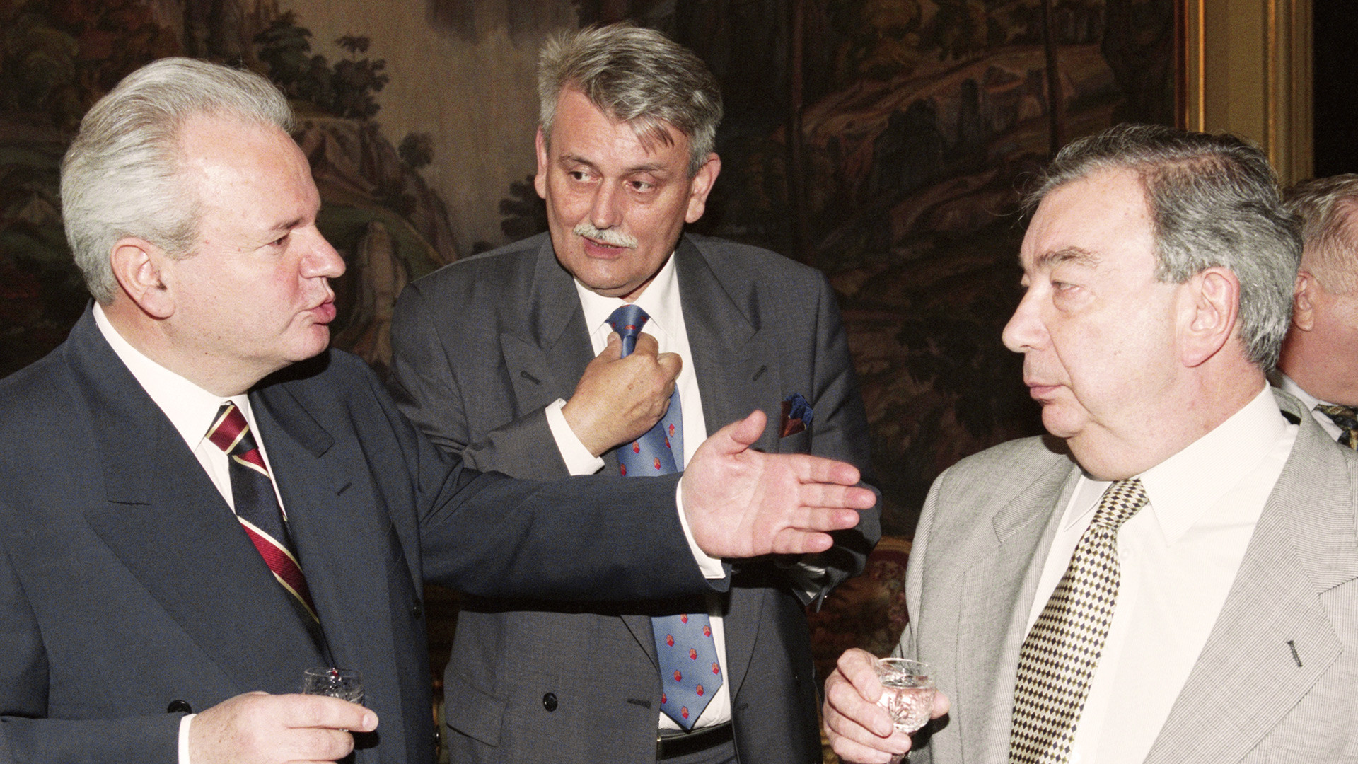Слободан Милошевић и Јевгениј Примаков
