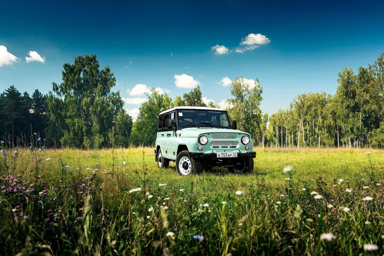 Jubilejni UAZ Hunter ob 45-obletnici modela UAZ 469