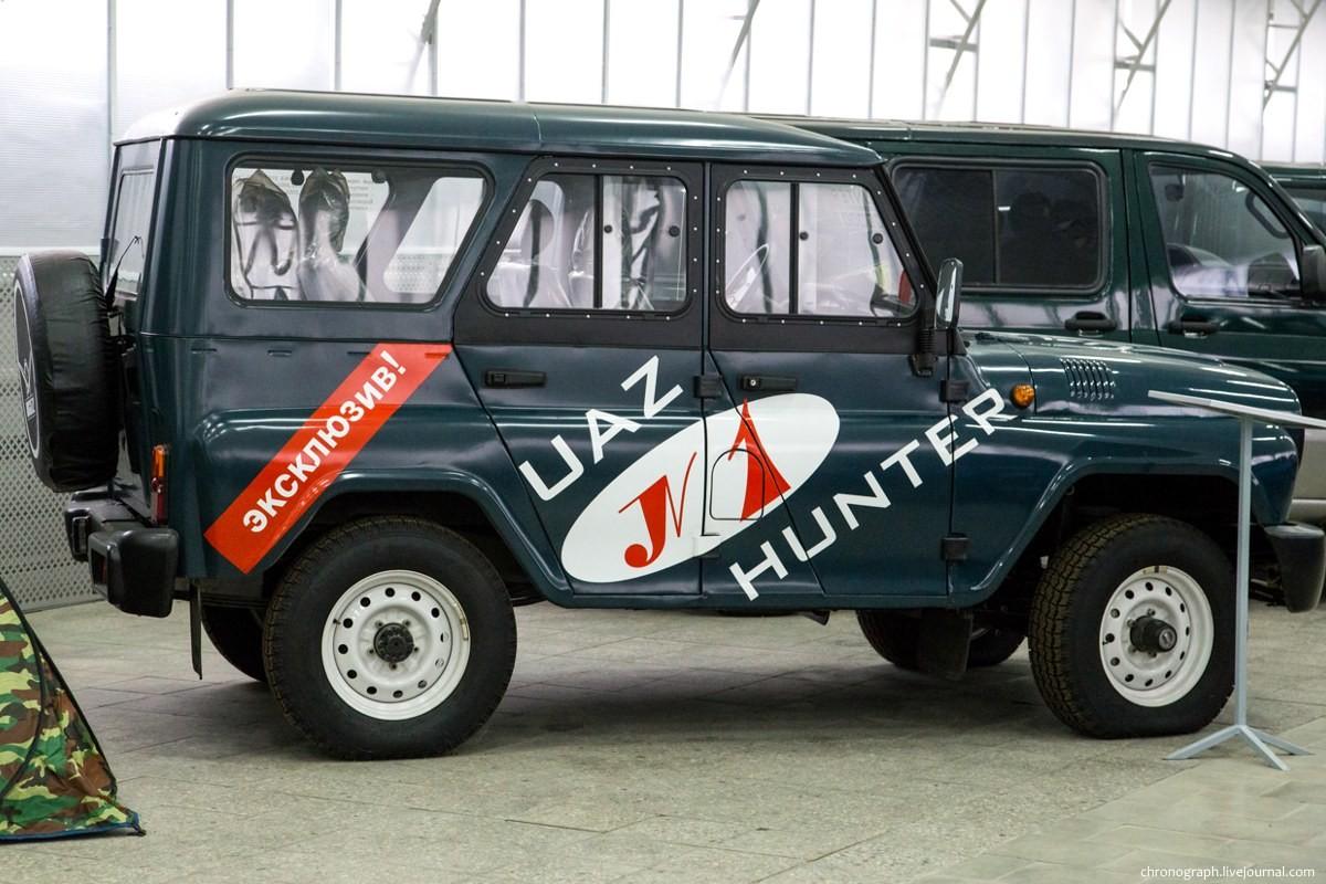 Primerek UAZ Hunter št 00001 iz tovarniškega muzeja