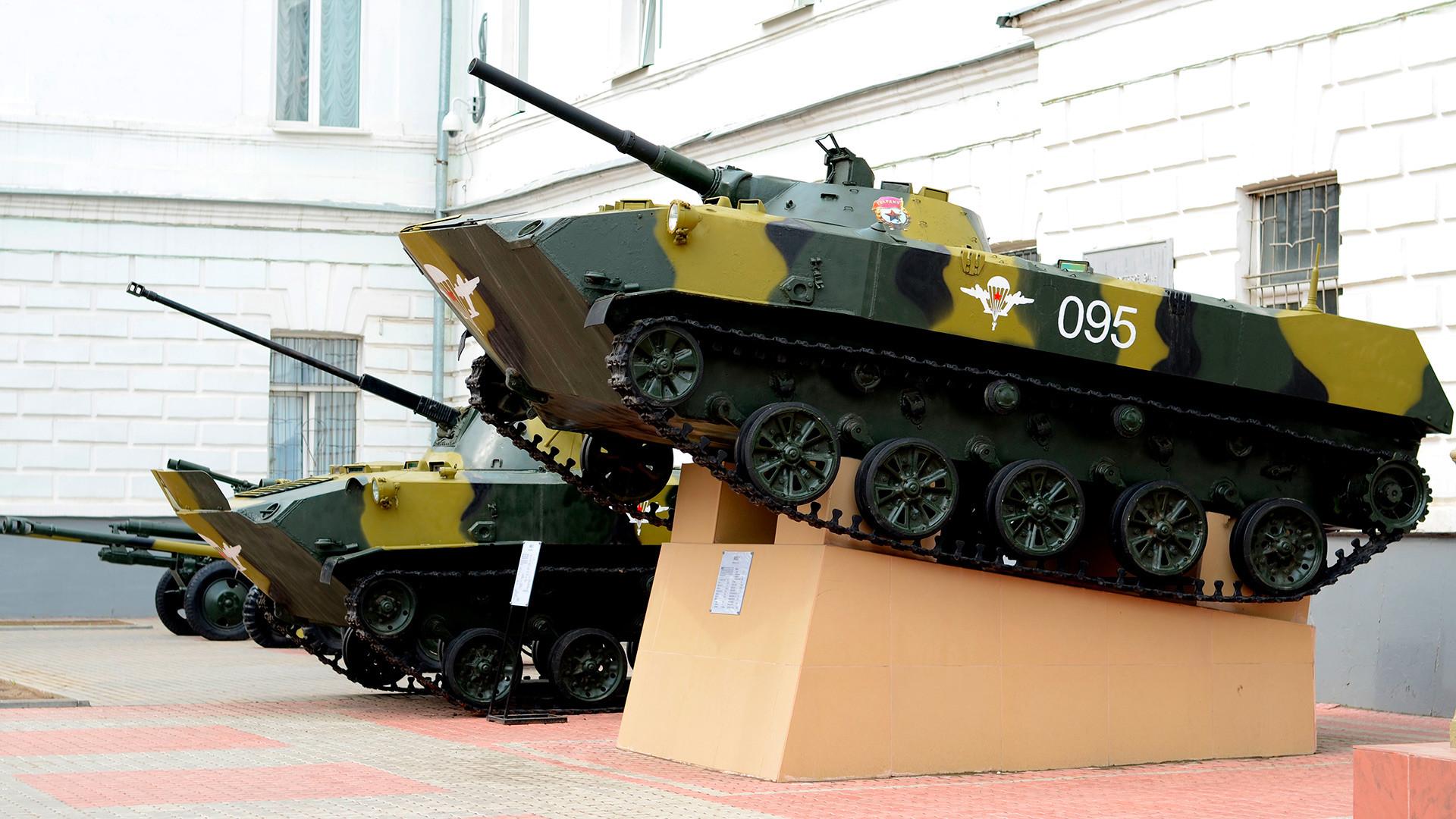 Museo de las Tropas Aerotransportadas de Rusia en Riazán.