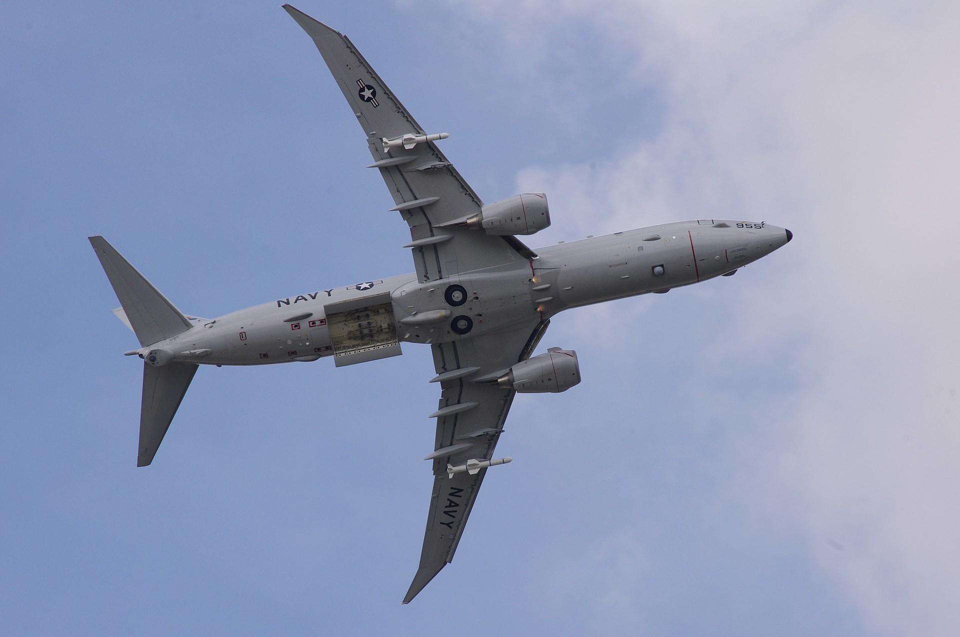 Boeing P-8 Poseidon.