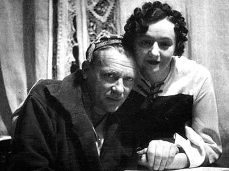 Mijaíl y Elena Bulgákov.