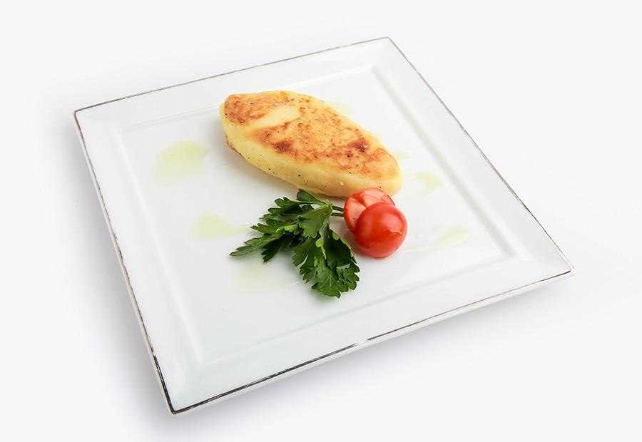 Cotleta (escalope ruso) de papas.