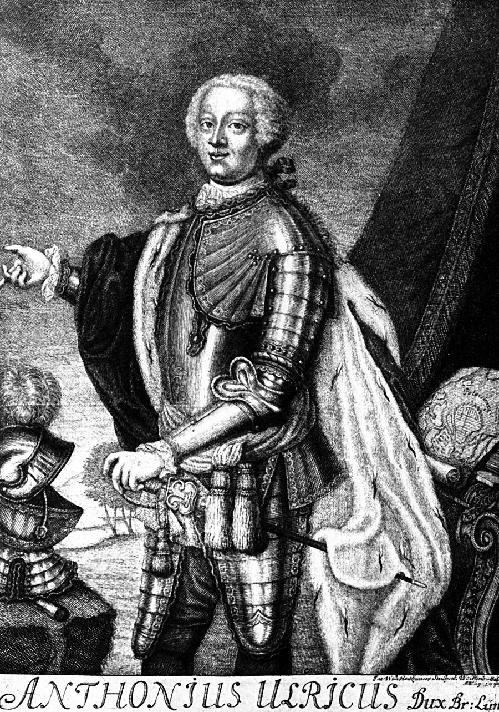 Portret vojvode Antona Urlicha od Brunswicka (1714.-1774.).