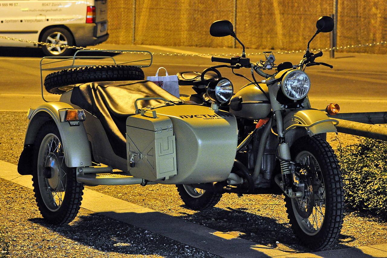 Motocikel IMZ Ural v Švici, 2011
