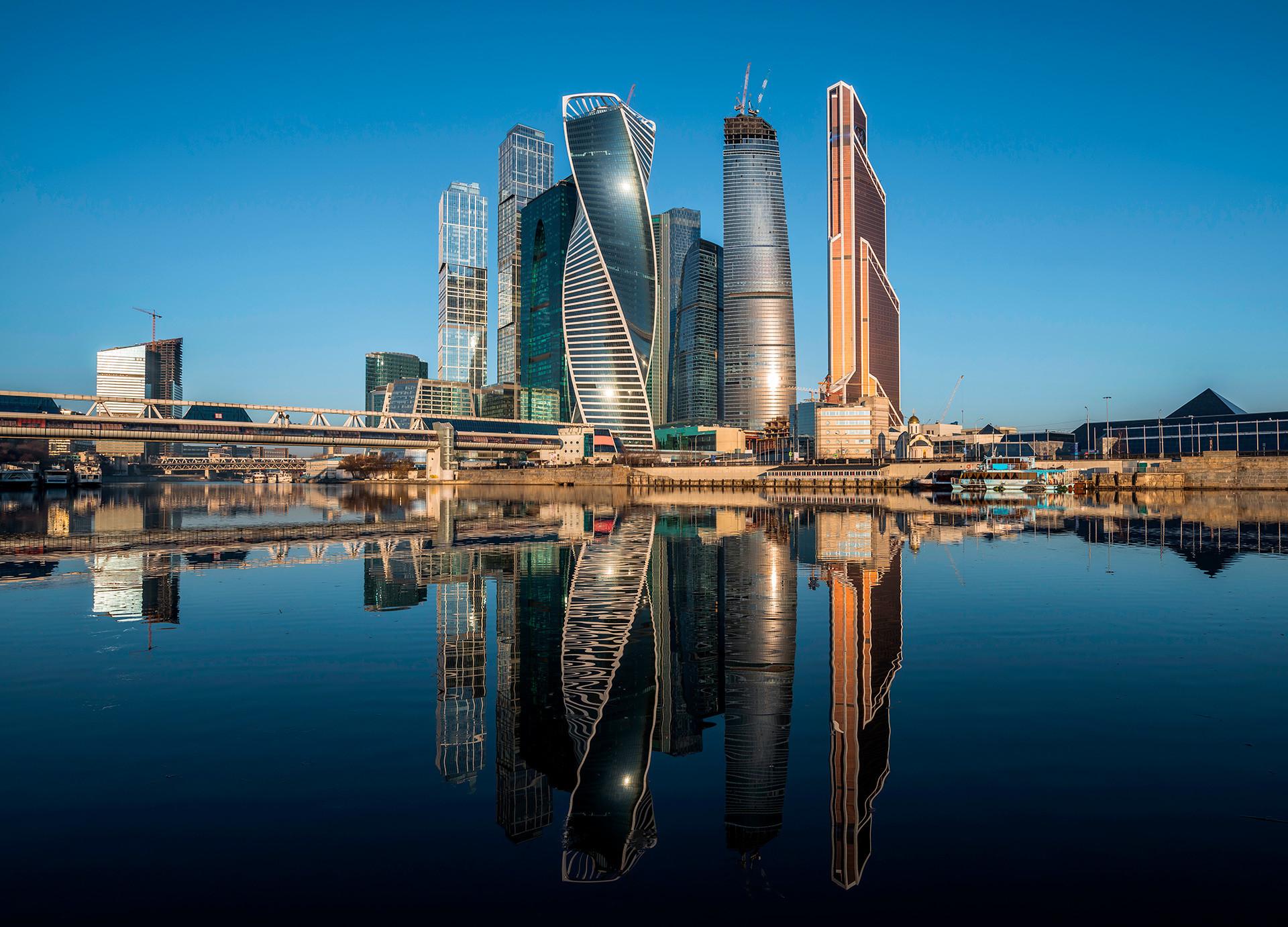 """Бизнис центарот """"Москва сити"""""""